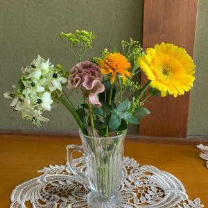 紆余曲折のお花の宅配便