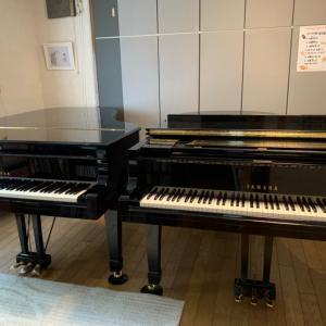 2台ピアノの教室になりました! (^_^)v