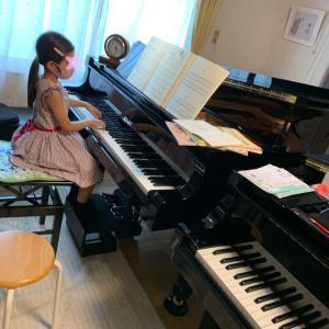 二台ピアノレッスン初日『良い風』が吹いています