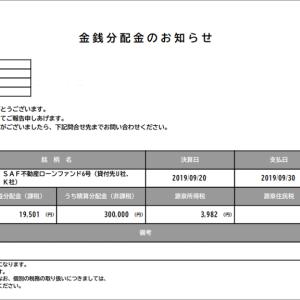 SAMURAIの満期一括償還は安定性があって好きです。