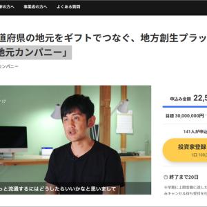 株式型クラウドファンディング イークラウドが1号案件出資者に豪華8千円のカタログギフトをプレゼント!