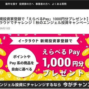 まだ余裕がありますが、イークラウドの1,000円プレゼント新規会員登録お忘れなく!
