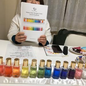西国分寺で人気の美容師さんご参加 TCマスターカラーセラピスト講座感想