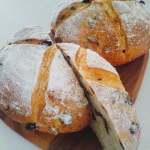 小麦粉と水だけのパン種