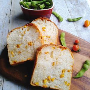 焼きとうもろこし食パン