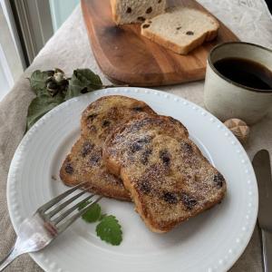 美味しいコーヒーとフレンチトースト