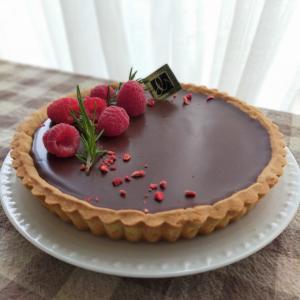 生チョコレートタルトのレッスン