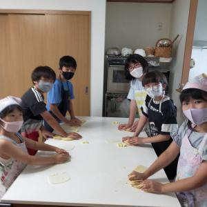 2021 夏休みキッズパン教室始まりました