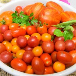 鮮やかなミニトマト&追加ミニカーBeetle