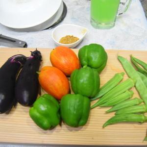夏野菜スパイスカレー