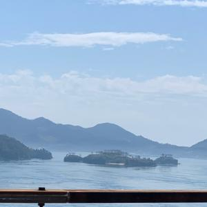 あれは村上水軍の能島(のしま)・来島海峡SA