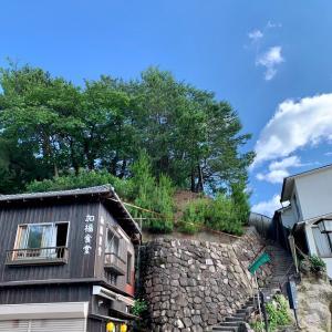 宮尾城跡の要害山へ 宮島ウォーキング