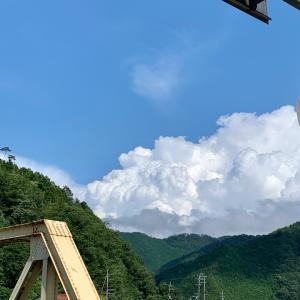 入道雲もくもく 夏が来ますね