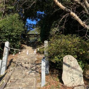 武田山の麓に新羅神社(広島市祇園)