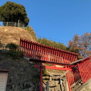 船山稲荷神社(可部)はお城みたいと思ったら