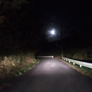 怖い田舎道でのお仕事
