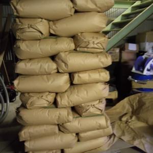 甲曽コシヒカリの収穫量