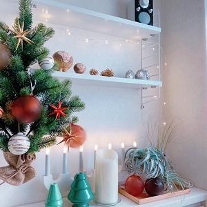 クリスマスツリー飾りました♪