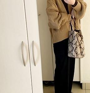 【コーデ】 お手頃なジョーゼットパンツ☆セットアップも素敵