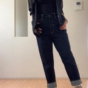 【ユニクロ&GUコーデ】 自分なりのNGコーデとOKコーデ☆シアーシャツ+ハイウエストマムジーンズ