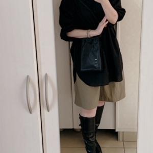 【ユニクロ秋コーデ】 もう履きたいロングブーツ