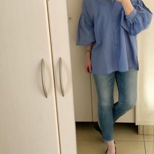 【コーデ】 自分の強みを生かせるシャツ☆ポスターチェンジで少し模様替え