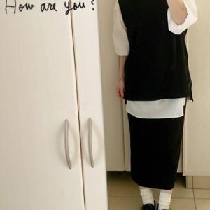 【ユニクロコーデ】 秋も重ね着でマメクロを着ます