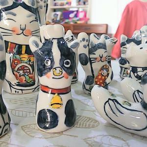 浦本工房さんの陶器の人形が届きました