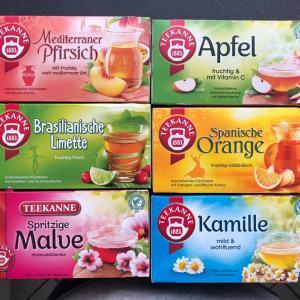 ドイツのスーパーで簡単に買えるオススメフルーツティーの紹介