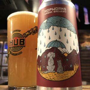Hopworks Urban Brewery So Long Sunshine Hazy IPA