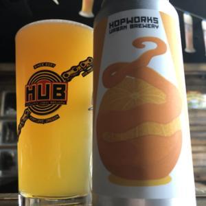 Hopworks Urban Brewery Tangerine Beam