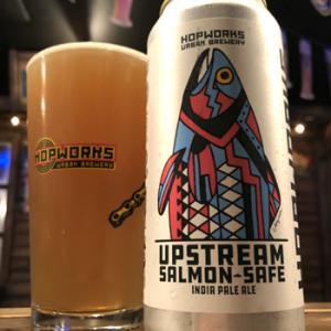 Hopworks Urban Brewery Upstream Salmon-Safe IPA