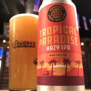 HUB Tropical Paradise Hazy IPA