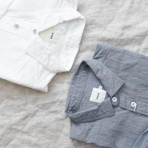 RINEN  |  80/2ダウンプルーフ レギュラーカラーシャツ