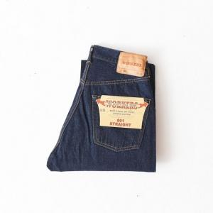 ♂ WORKERS  |  Lot.801 Straight Jeans