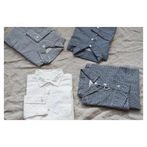 ♂♀ RINEN  |  80/2ダウンプルーフ レギュラーカラーシャツ
