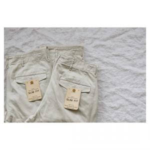 ♂♀ WORKERS  |  Officer Trousers Type1 Slim Fit