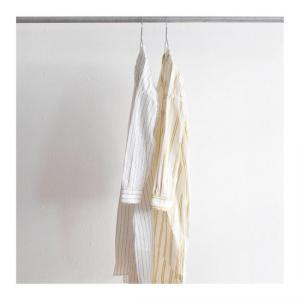 ORDINARY FITS  |  LONG BARBER SHIRT stripe (ladies)