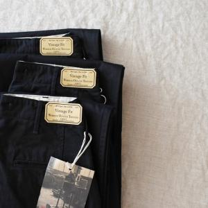 ♂ WORKERS  |  Officer Trousers Type 2 Vintage Fit