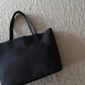 ♂♀ SLOW  |  embossing leather tote bag