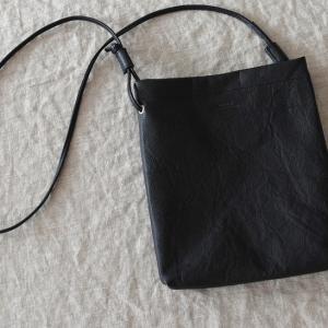 ♂♀ SLOW  |  embossing leather shoulder bag