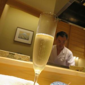 日本橋 蕎ノ字@人形町 「泡を予約して蕎麦で〆る」