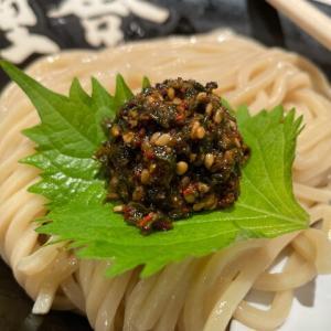 六厘舎@東京 「朝の生七味つけ麺」