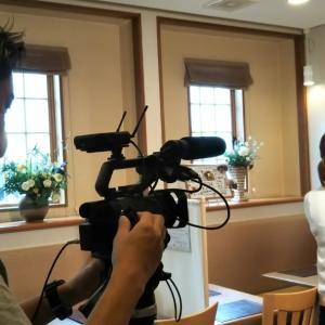 ケーブルテレビ(NCT)から取材を受けました