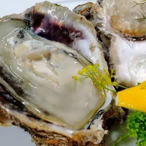 牡蠣メインのフルコースリクエスト