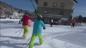 志賀高原スキー場2020.3.7 part.1