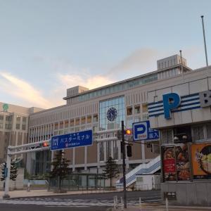 オリンピック開催前の札幌の朝