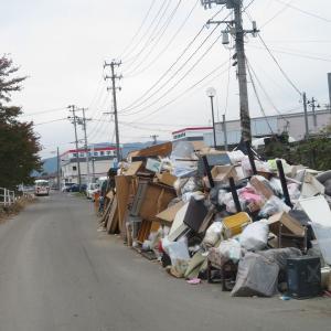 台風19号被災地に行ってきました