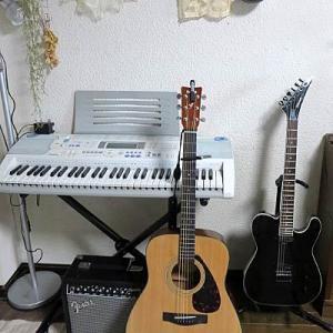 長男からエレキギターのプレゼントです・・・♪