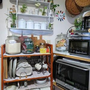 キッチンの大掛りな模様替えです・・・♪